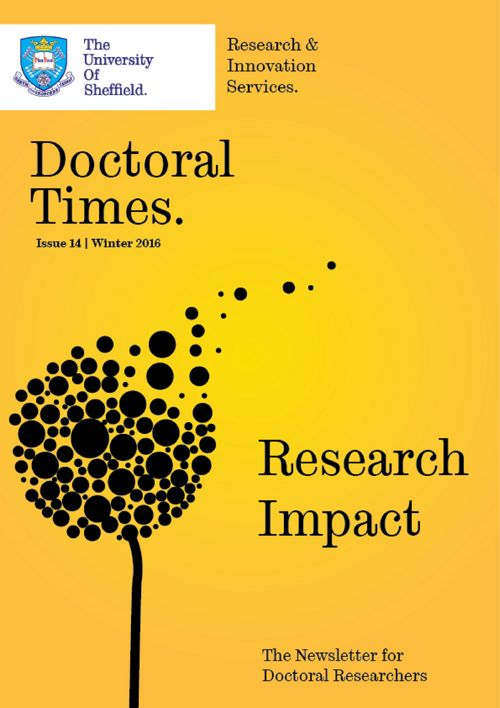 Doctoral Times Issue 14 - Research Impact