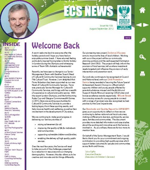 ECS News
