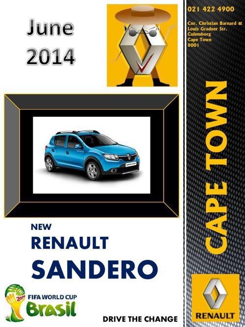 Renault Sandero Mag June 2014