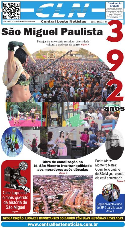 EDIÇÃO 051 - JORNAL CLN - CENTRAL LESTE NOTICIAS