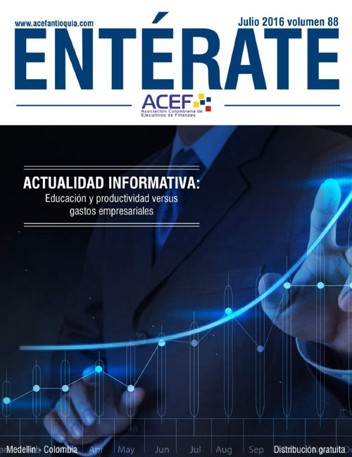 ACEF  ENTÉRATE  JULIO 2016