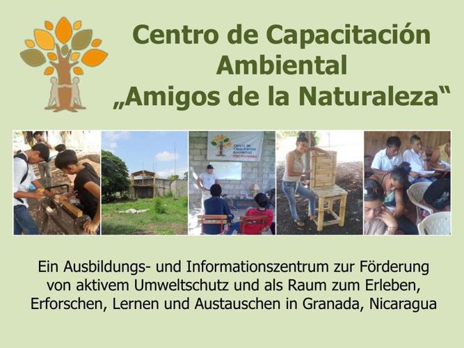 """Unser Umweltbildungszentrum """"Amigos de la Naturaleza"""" (März bis"""
