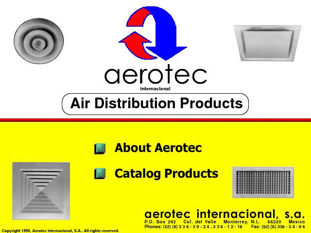 Aerotec Internacional - Catalogo de Productos