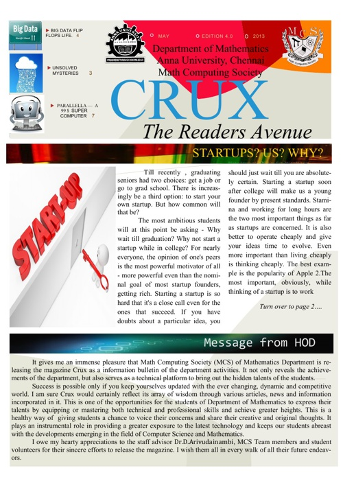 CRUX EDITION IV