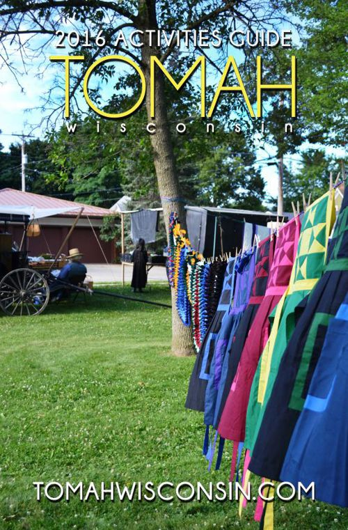NEW 2016 Tomah Activites Guide