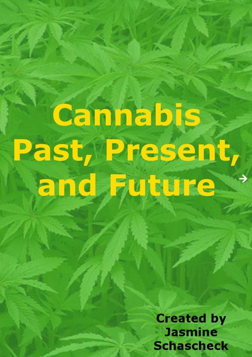Cannabis Past, Present, and Future