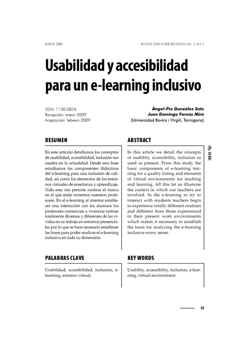 Usabilidad y Accesibilidad para Elearning-Inclusivo