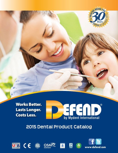 Defend 2015 Dental Product Catalog