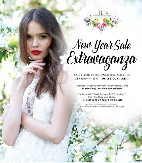 Le Reve New Year Sale Extravaganza 2017 (New Zealand)