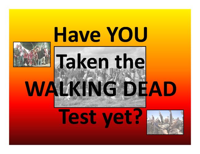 Walking Dead Test . com