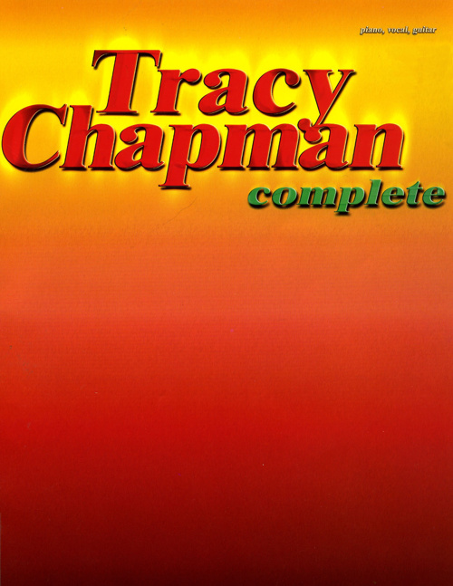 Complete Tracy Chapman for Piano/Vocal/Guitar Chords