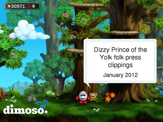 Dizzy: Prince of the Yolk folk media coverage