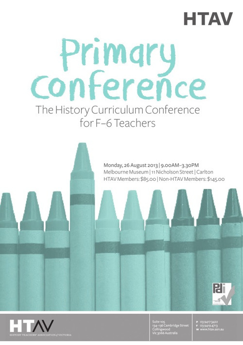 HTAV Primary Conference 2013