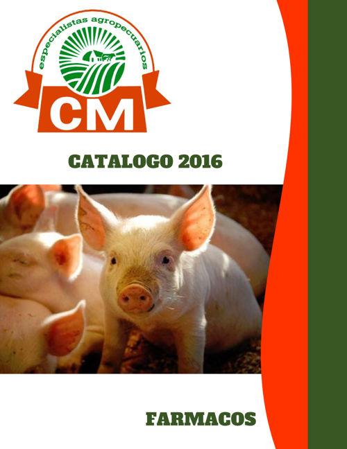 CATALOGO CM FARMACEÚTICOS - DESINFECCIÓN 2016 - 2017