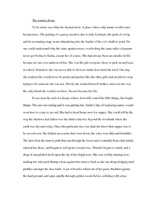 "Kristen Gray's Short Story ""Sasha"""