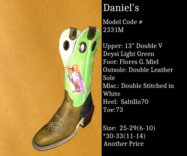 Daniel's by Billy Boots Cowboy Boots