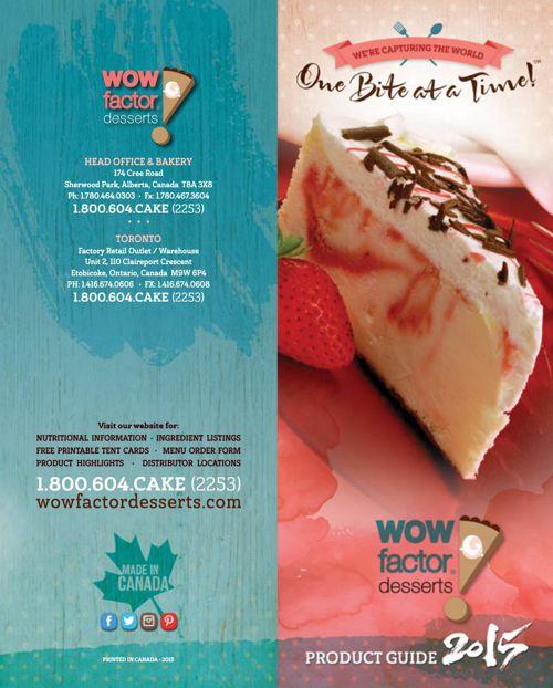 2015 WOW! Factor Desserts Bookshelf
