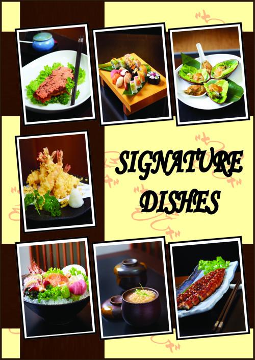 Zakuro 2 Japanese Cuisine Menu