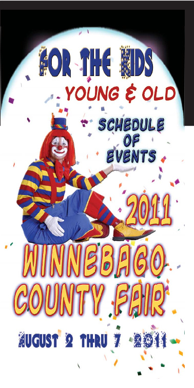 2011 Winnebago County Fair Schedule of Events