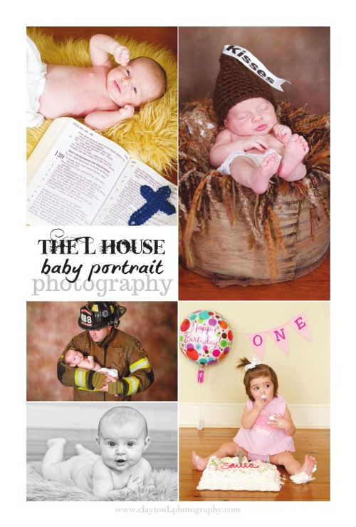 Baby First Year Photography Plans