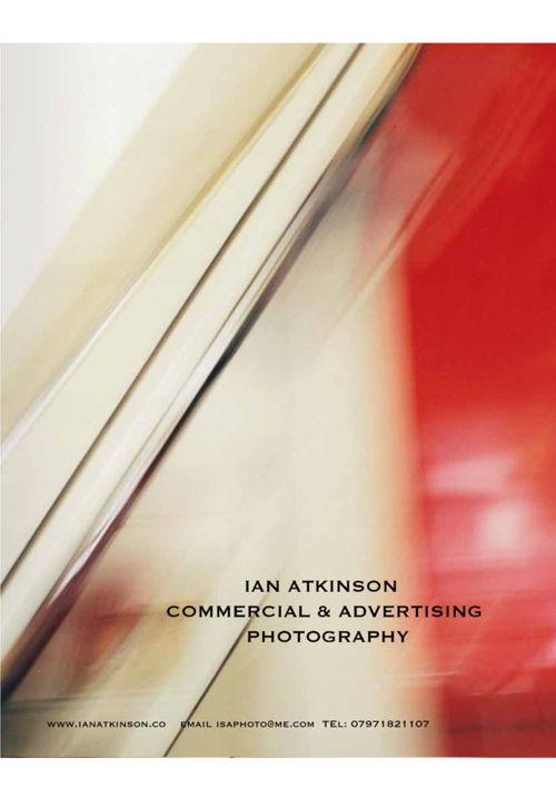 Ian Atkinson Photographer commercial brochure 2016