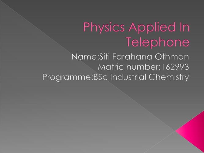 Physics AppliedmI