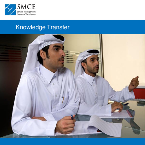 SMCE - Knowledge Transfer