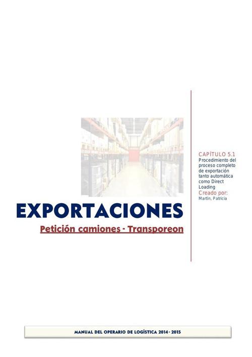 5.1_ Exportaciones. Transporeon