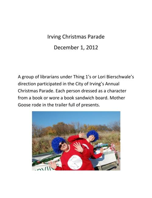 Irving Christmas Parade