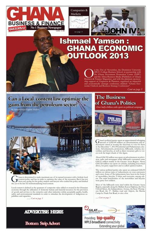 GB& F Online magazine