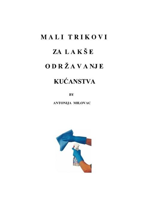 Korisni savjeti Antonije Milovac