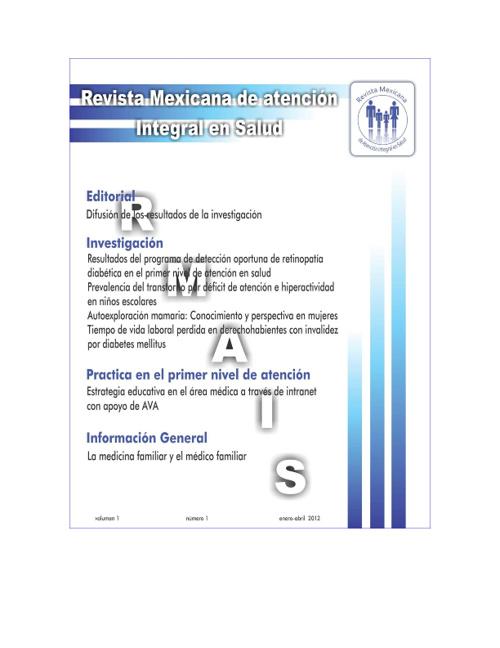 Revista Mexicana de Atención Integral a la Salud