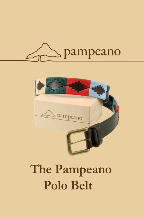 The Pampeano Polo Belt
