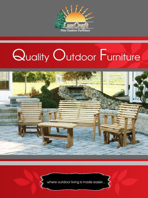 LuxCraft Wood Furniture Brochure