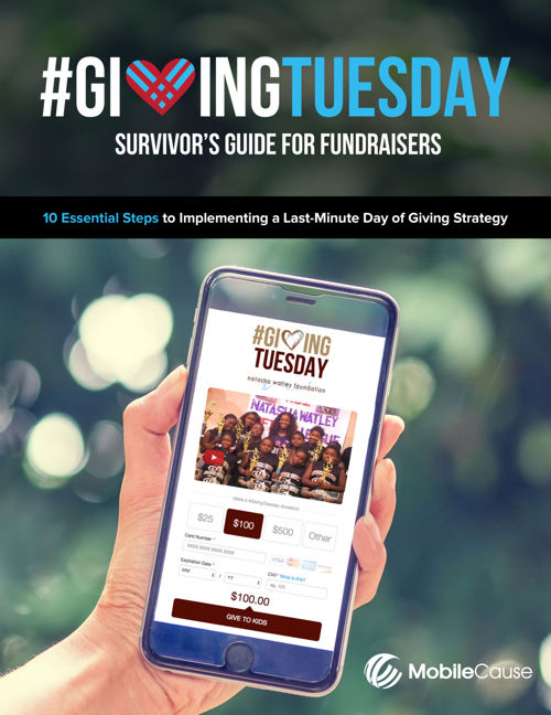 #GivingTuesday Survivor's Guide for Fundraisers