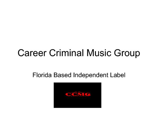 Career Criminal Presentation