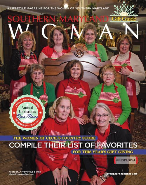 Southern Maryland Woman magazine - November/December 2015