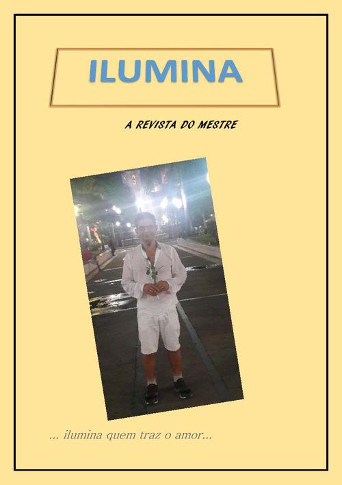 Revista Ilumina para parabenizar um amigo.