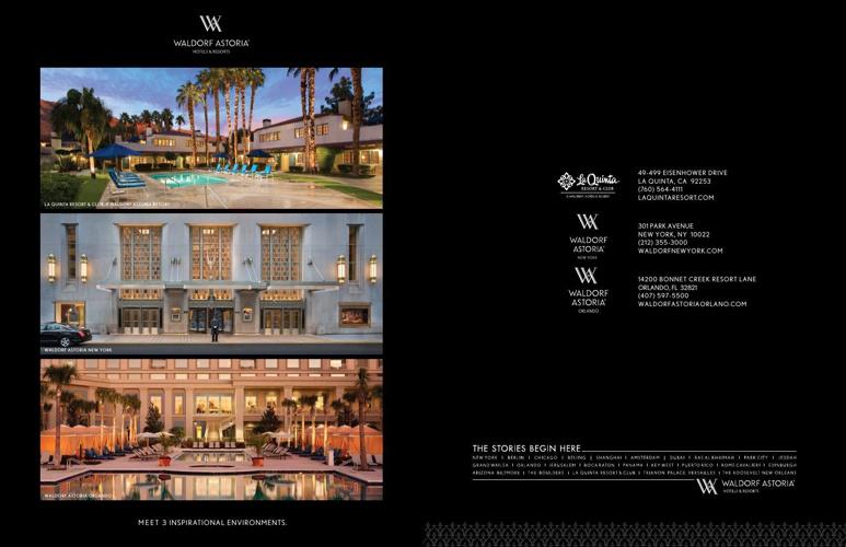 Waldorf Astoria Hotels & Resorts :: 3 Iconic Meeting Destination