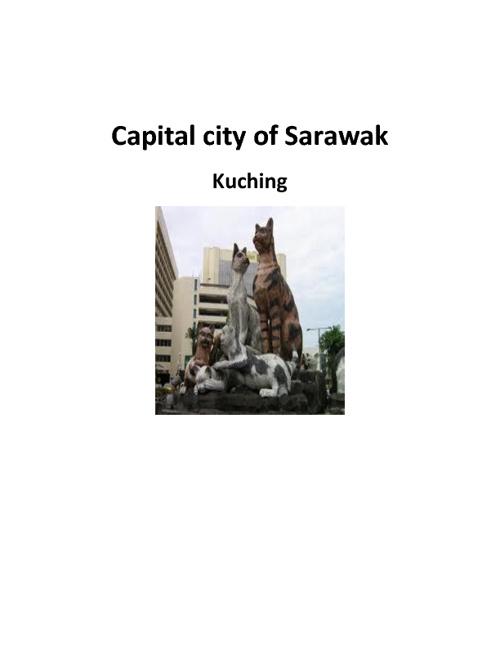 Kuching, Capital of Sarawak