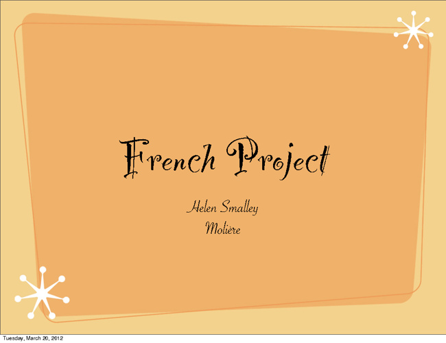 French project