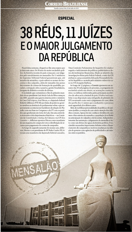 Especial Mensalão - Correio Braziliense