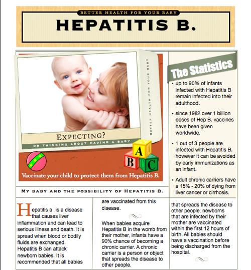 Babies - Hepatitis B