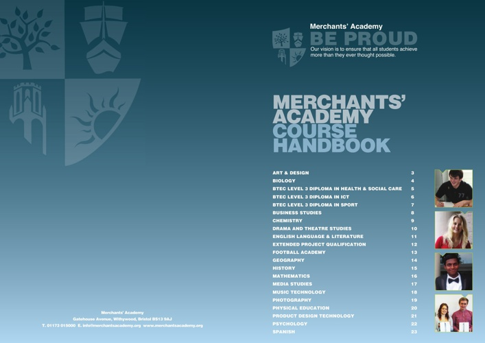 Merchants' Academy Course Handbook