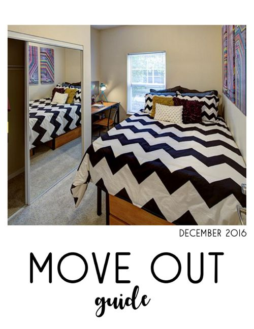 December 2016 Move Out Guide