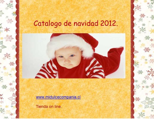 Catálogo de Navidad 2012 Mi Dulce Compañía