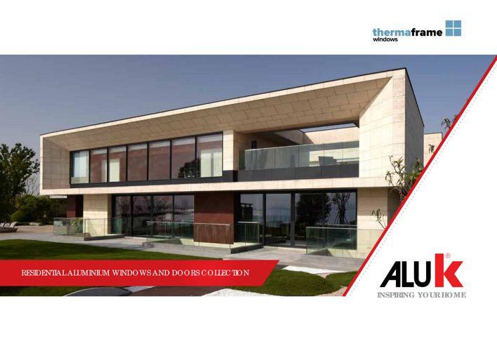 AluK Residential brochure thermaframe