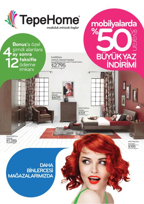 Tepe Home | 2012 Cazip Fiyatlı Ürünler Kataloğu