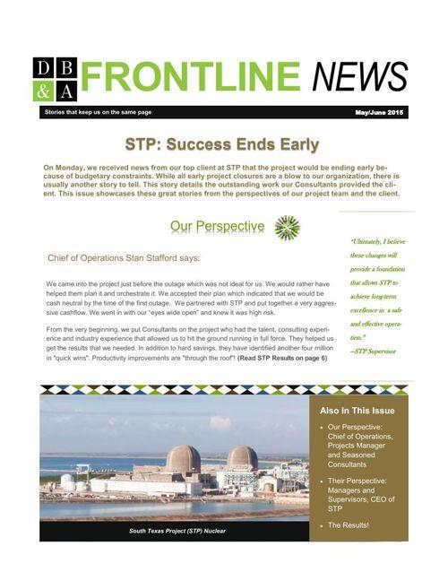 May.June 2015 Newsletter STP