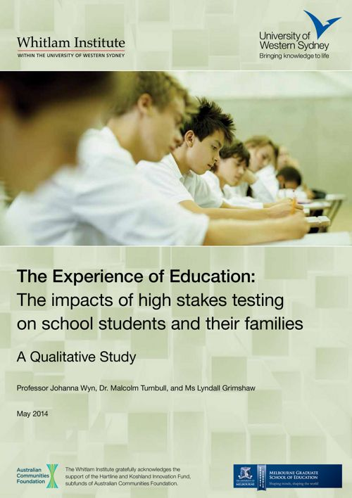 The Experience of Education: A Qualitative Study